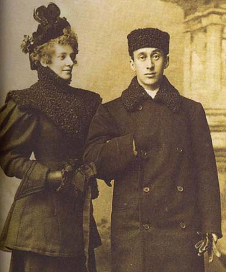 Зинаида Гиппиус и Дмитрий Мережковский