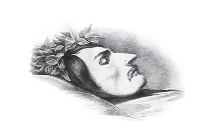 Гоголь на смертном одре