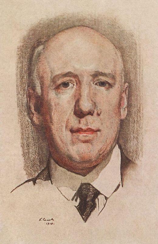 Портрет Ф. К. Сологуба (1910)