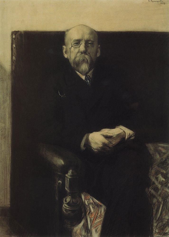 Портрет Фёдора Сологуба (1907)