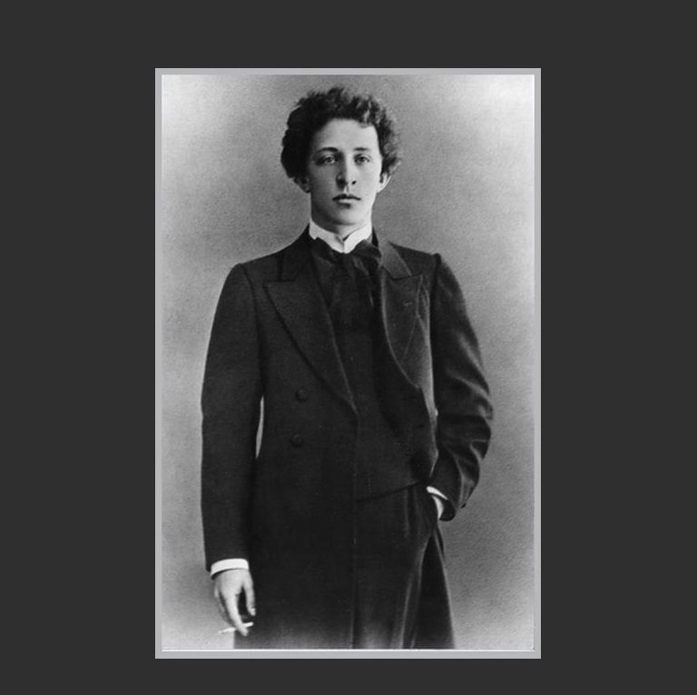 Александр Блок в 1907 году