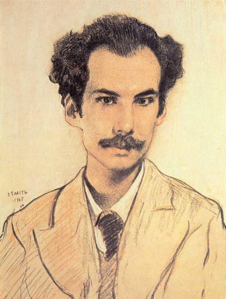 Портрет А.Белого. 1905