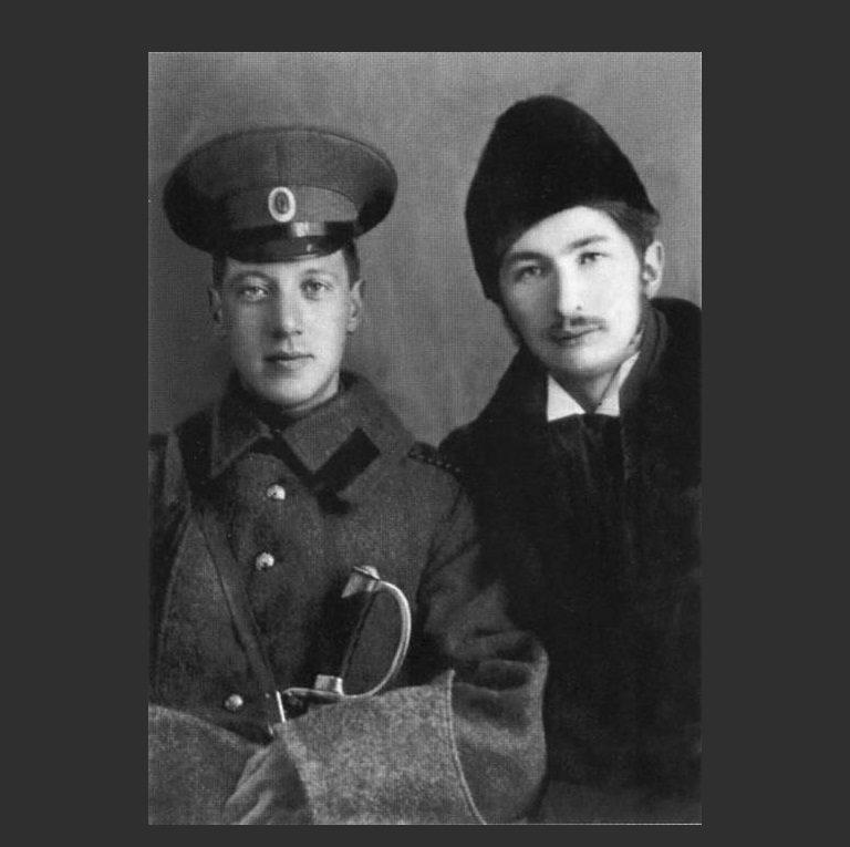 Николай Гумилев и Сергей Городецкий – основатели «Цеха поэтов» и акмеизма