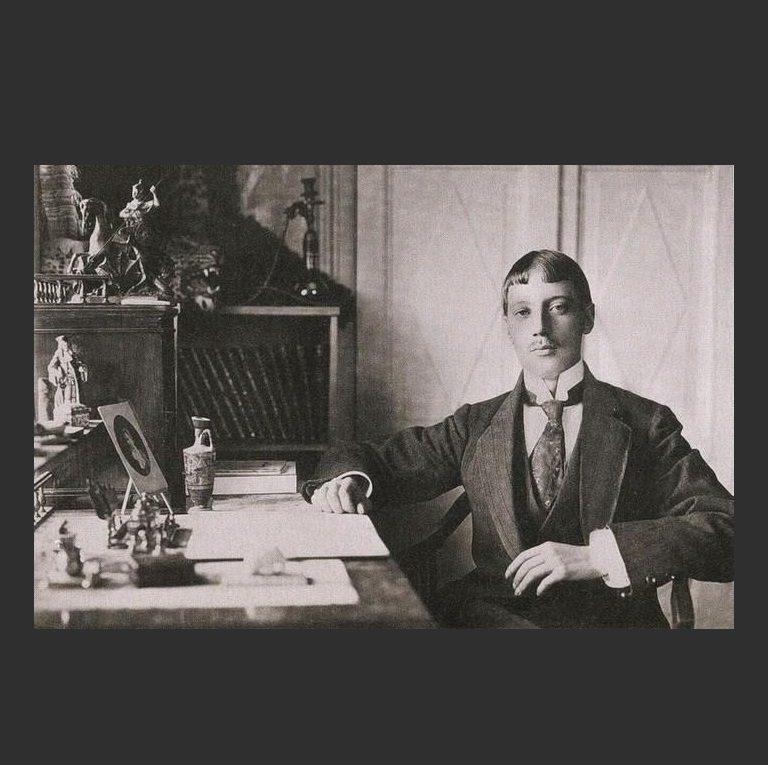 Николай Гумилев – «синдик» «Цеха поэтов»