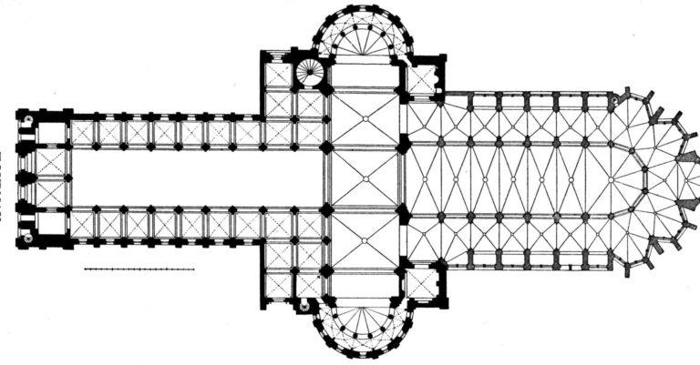 План собора Парижской Богоматери