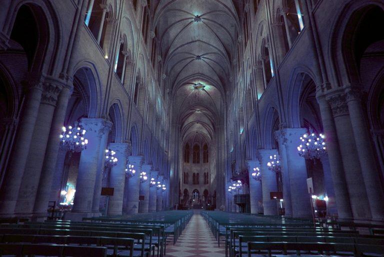 Своды собора Парижской Богоматери