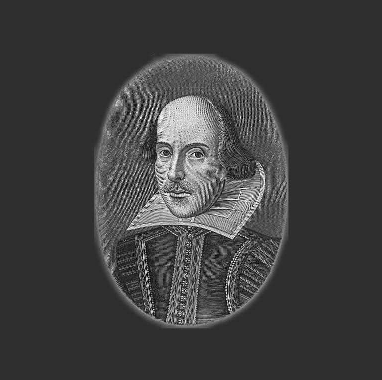 Единственное известное достоверное изображение Шекспира