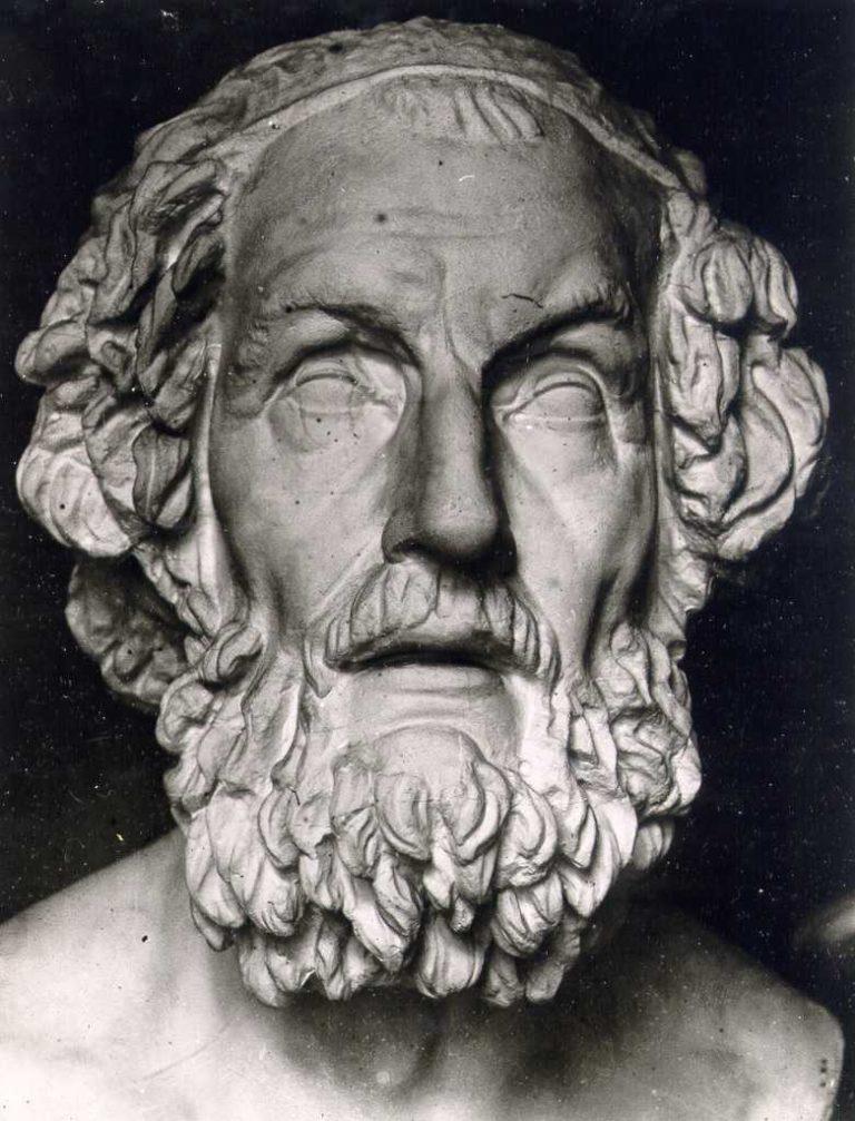 Гомер (др.-греч. Ὅμηρος, VIII век до н. э.)