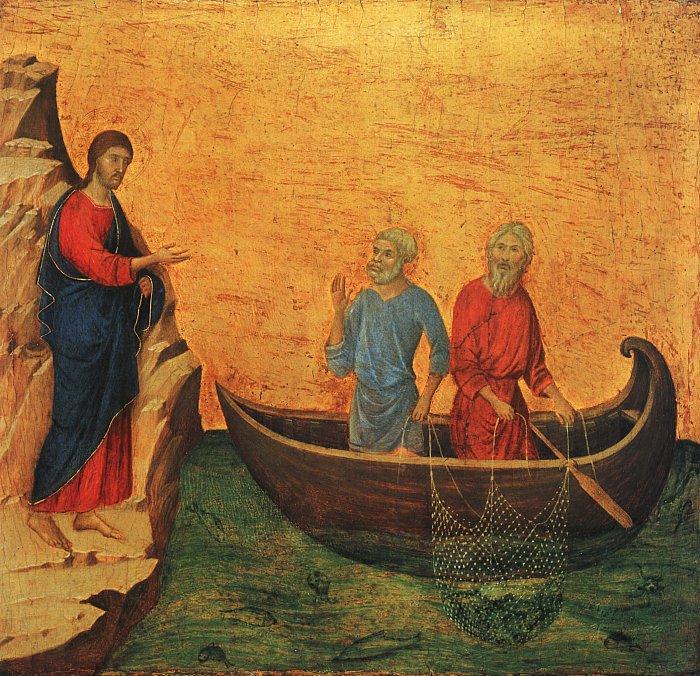 Призвание апостолов Петра и Андрея. 1308-1313