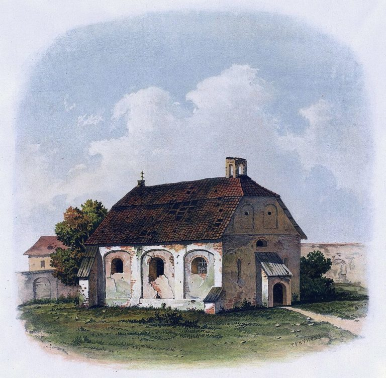 Церковь св. Параскевы Пятницы в Вильно. 1807