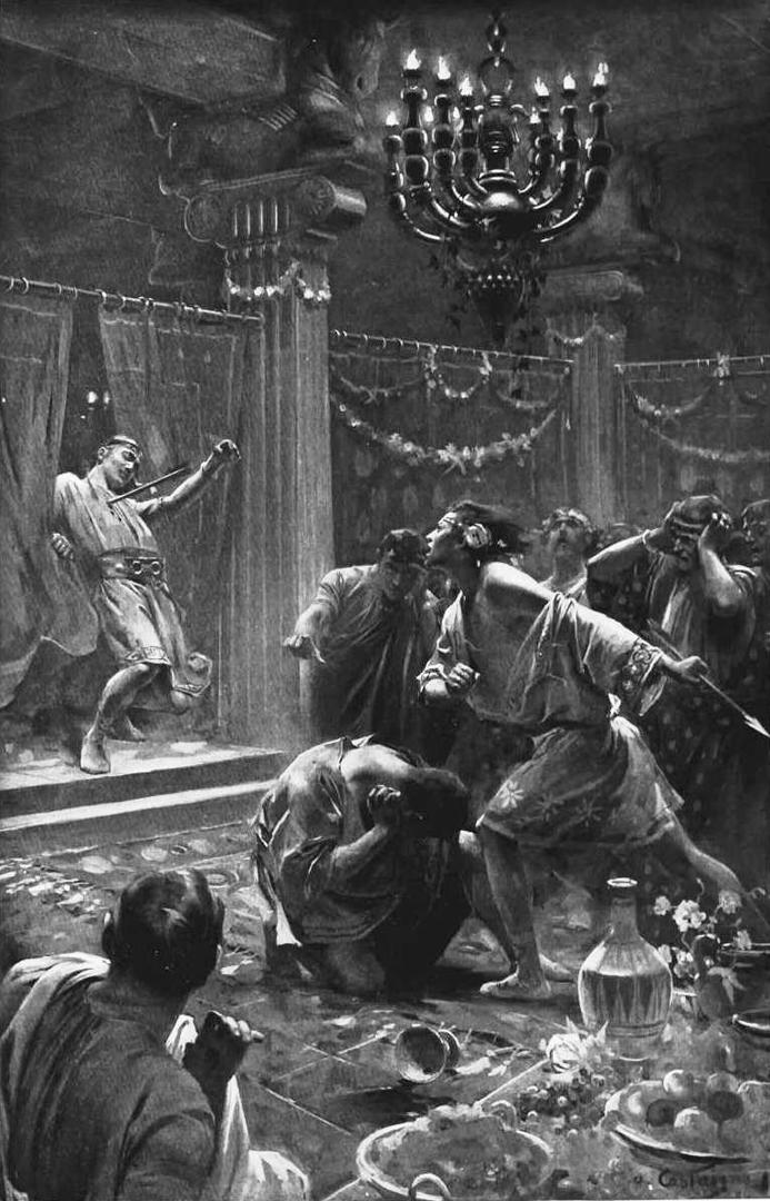 Александр Великий убивает Клита Черного. 1899