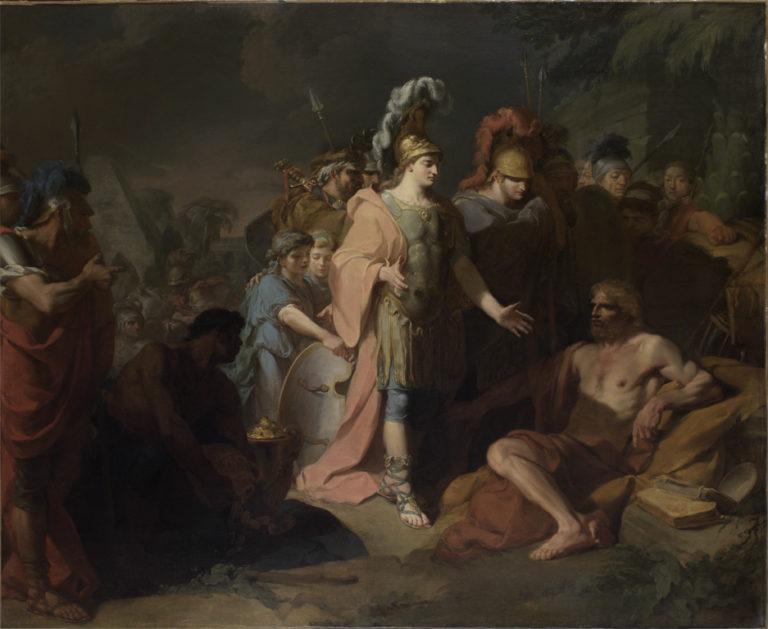 Александр и Диоген. 1818