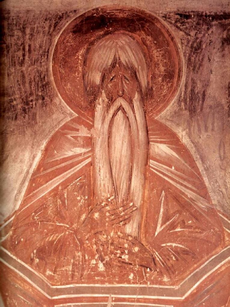 Алипий Столпник. 1378 г.