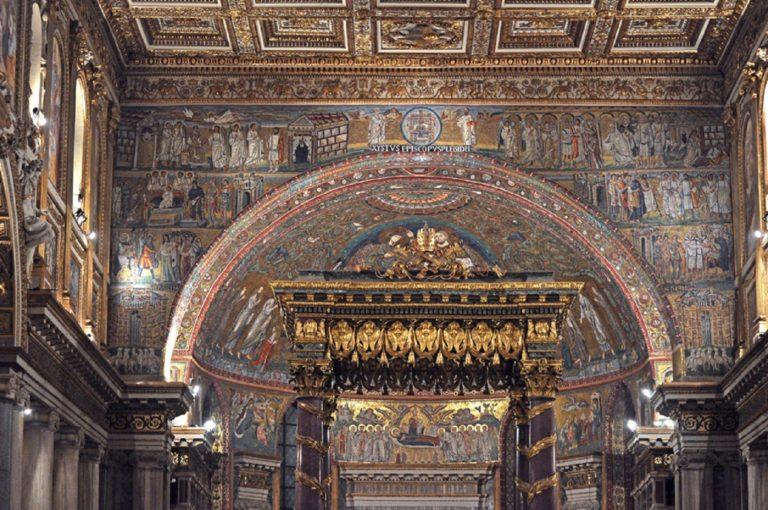 Алтарная часть базилики Санта Мария Маджоре, Рим