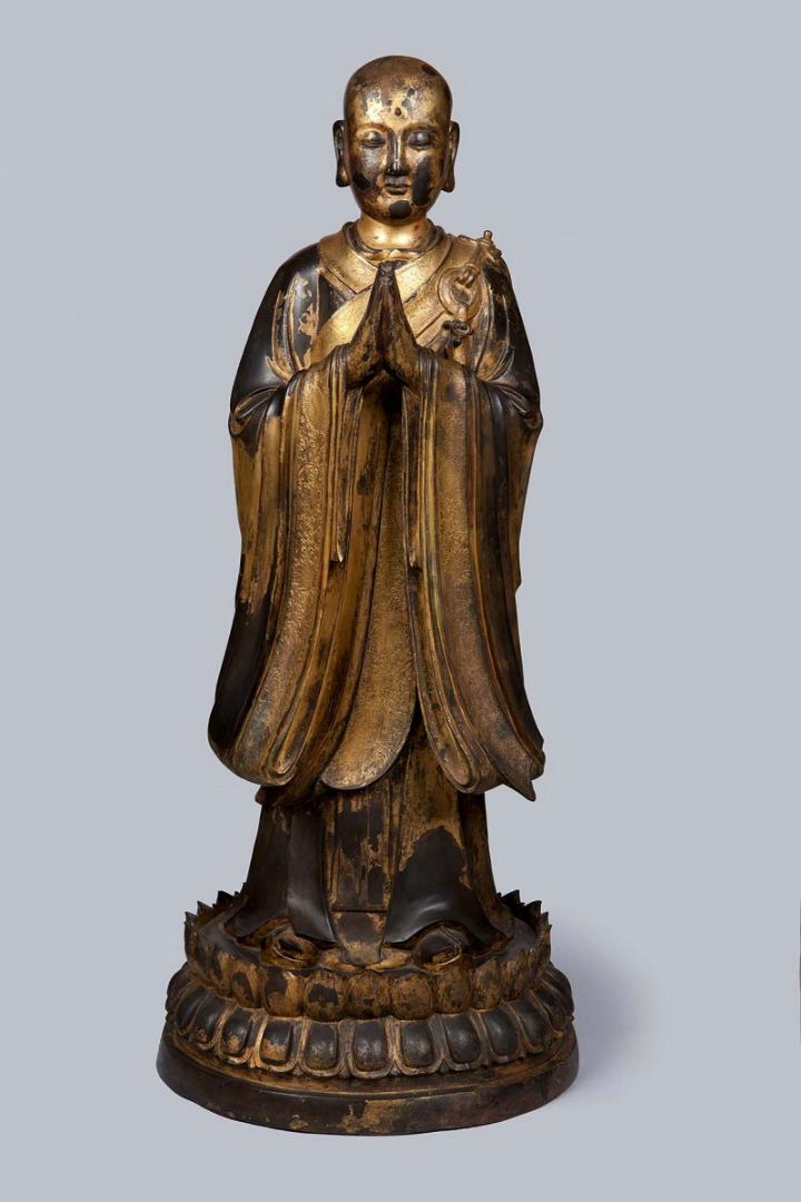 Ананда, ученик Будды. XVII в.