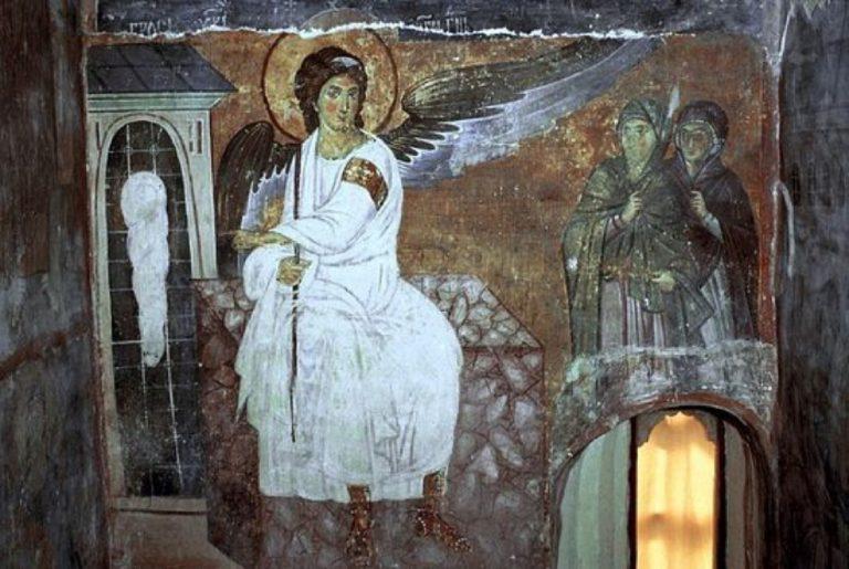 Ангел Воскресения. 1228 г.