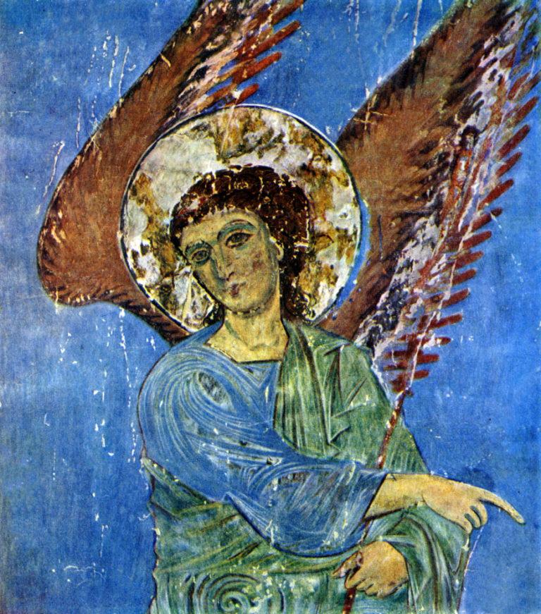 Ангел. Конец XII - нач. XIII вв.