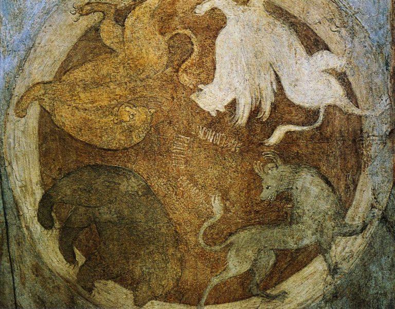Апокалиптические звери. 1408 г.