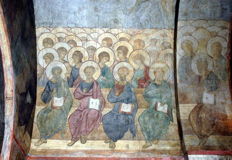 Апостолы и ангелы. 1408 г.