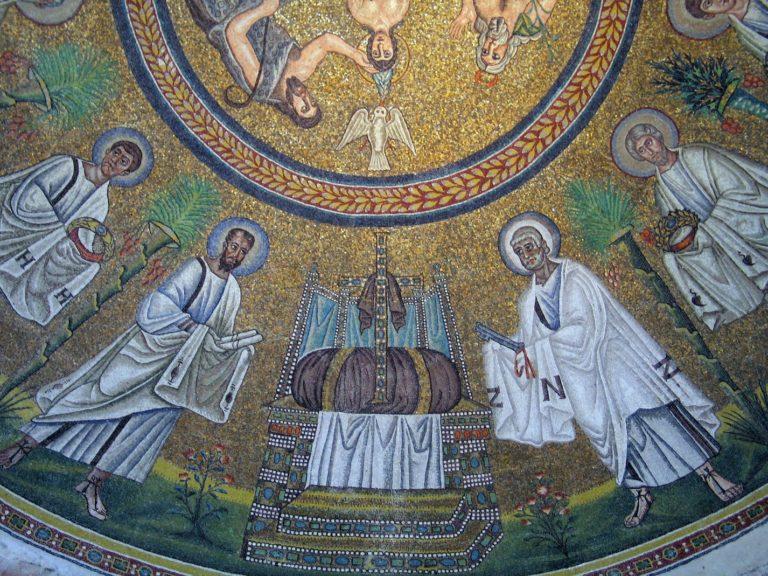 Апостолы идут к Престолу Божию