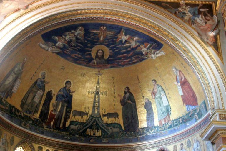 Апсида церкви Сан-Джованни-ин-Латерано (Латеранская базилика), Рим