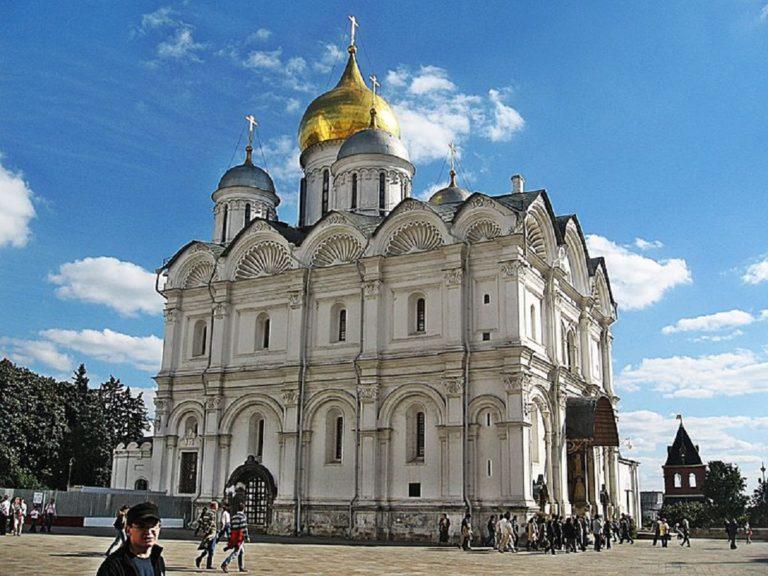 Архангельский собор Московского Кремля. 1505