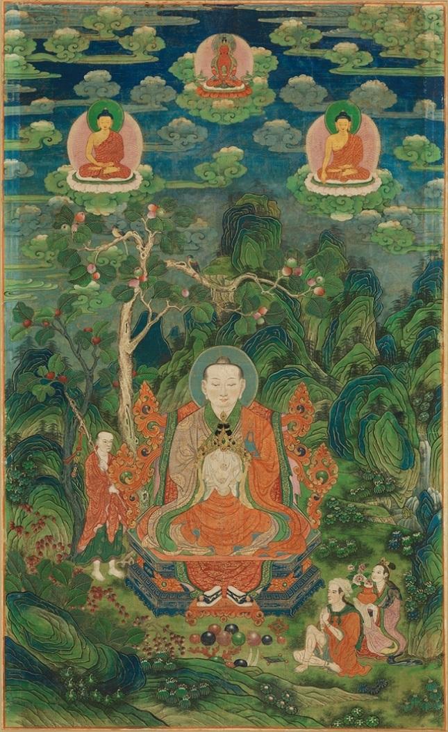 Архат Рахула. Китай, 1736–1795