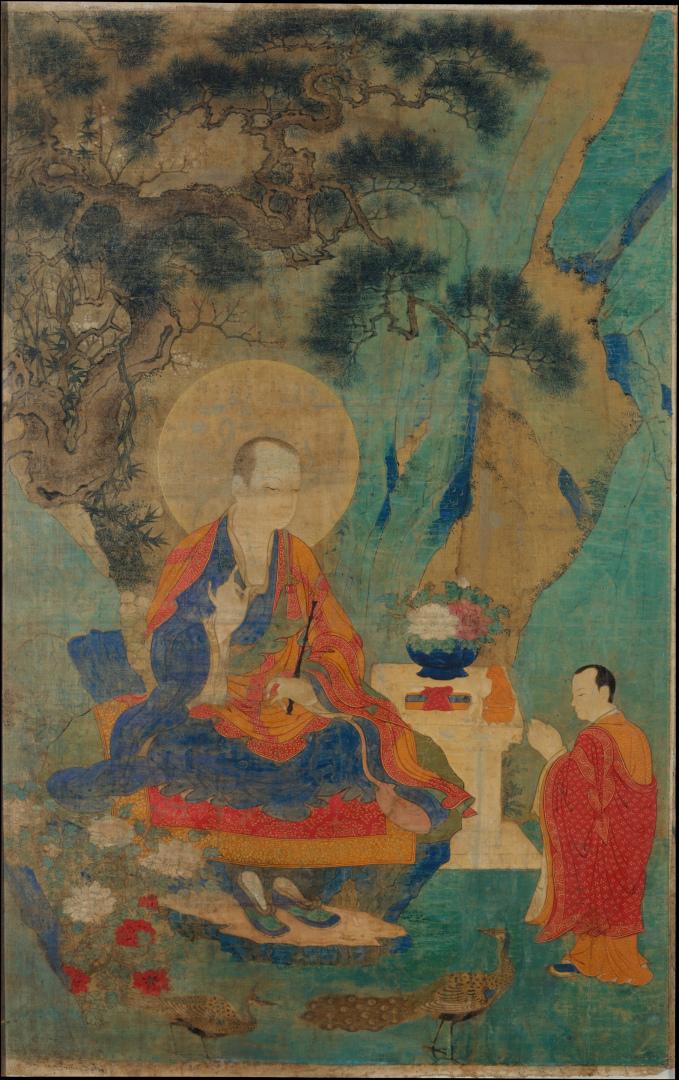 Архат Ваджрапутра. XV в. Тибет