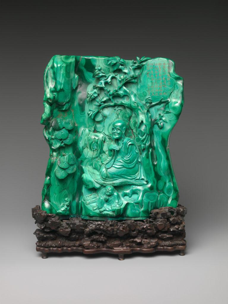 Архат, сидящий в гроте. XVIII в. Китай