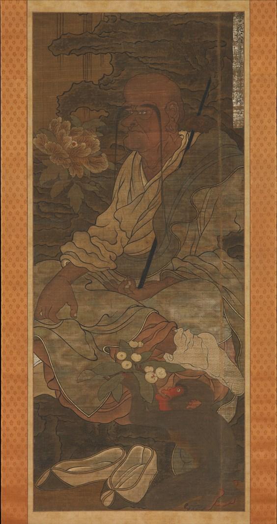 Архат. Япония, XIV в.