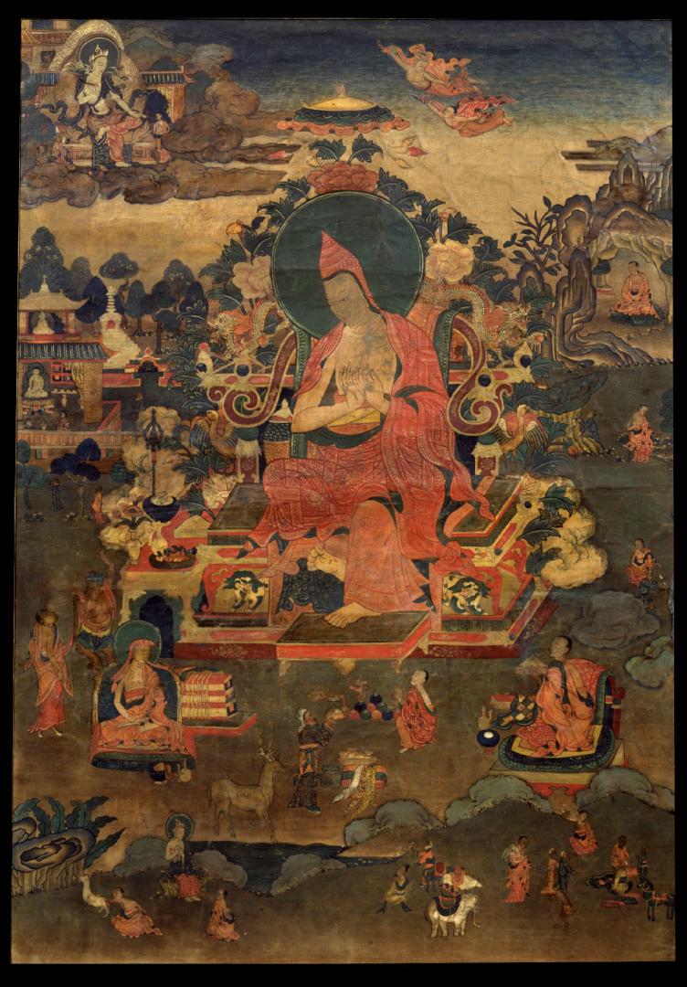 Асанга. Тибет, XIX в.