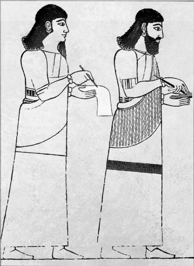 Ассирийские писцы