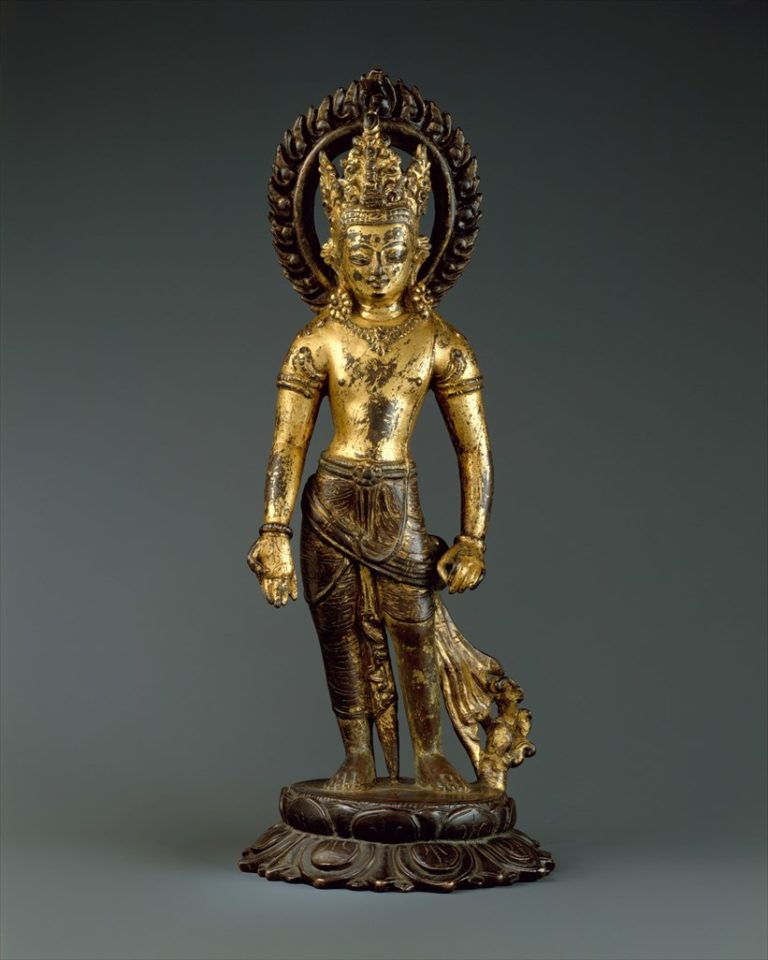Авалокитешвара, бодхисаттва бесконечного сострадания. Непал, X в.