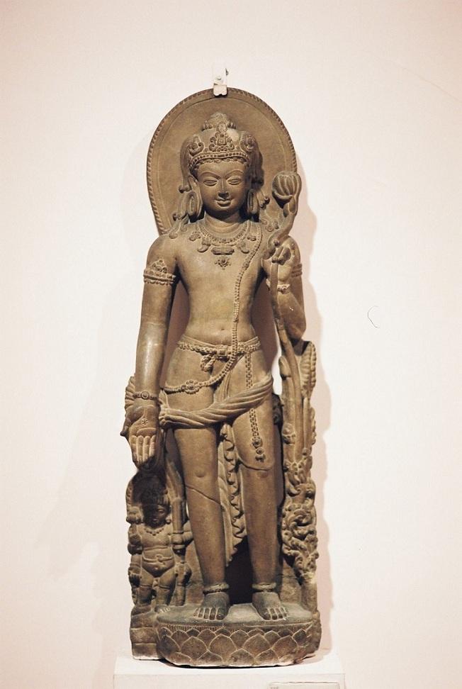 Авалокитешвара. IX в. Бихар, Индия