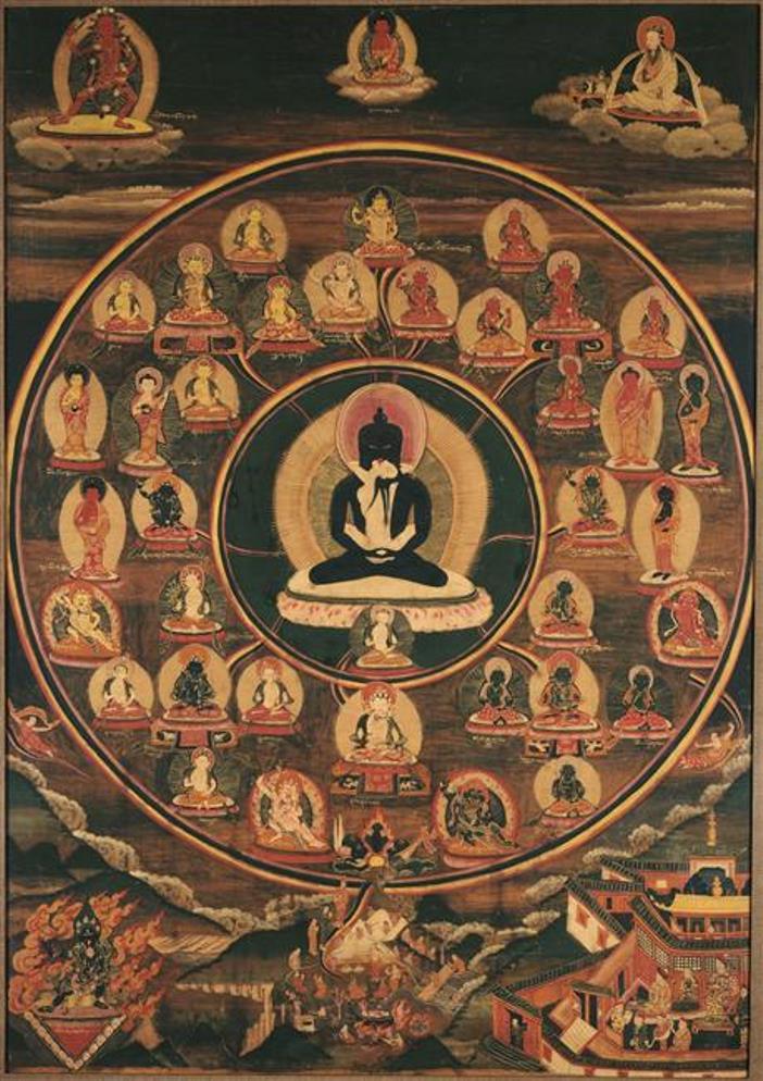 Бардо. Тибет, XIX в.