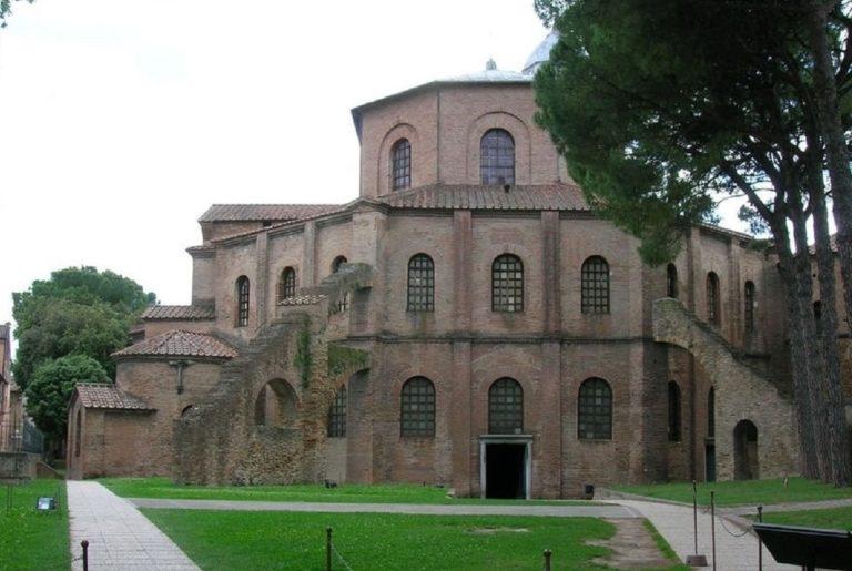 Базилика Сан-Витале. VI в. Равенна