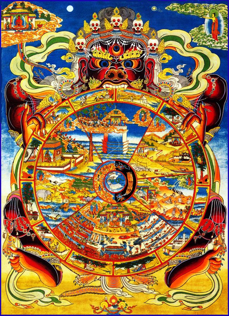 Бхавачакра – колесо бытия и перерождений
