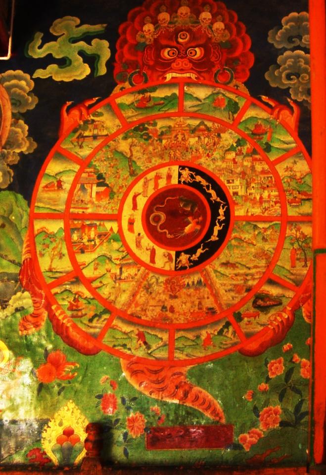 Бхавачакра – «колесо взаимозависимого происхождения»