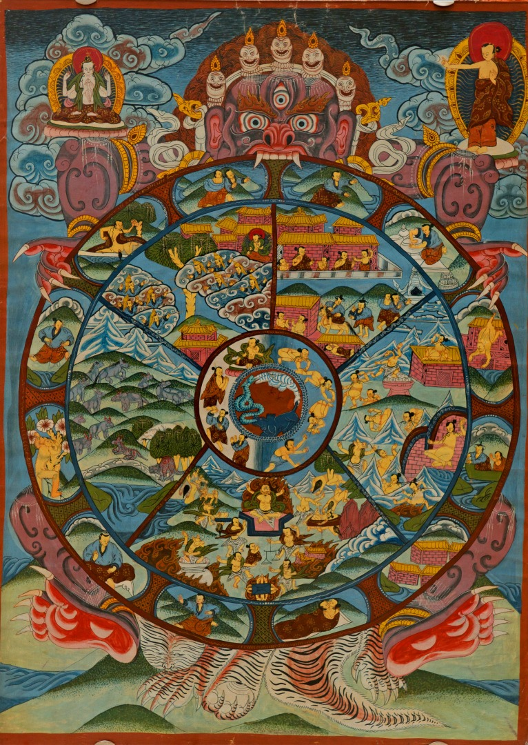 Бхавачакра. Тибет, XX в.