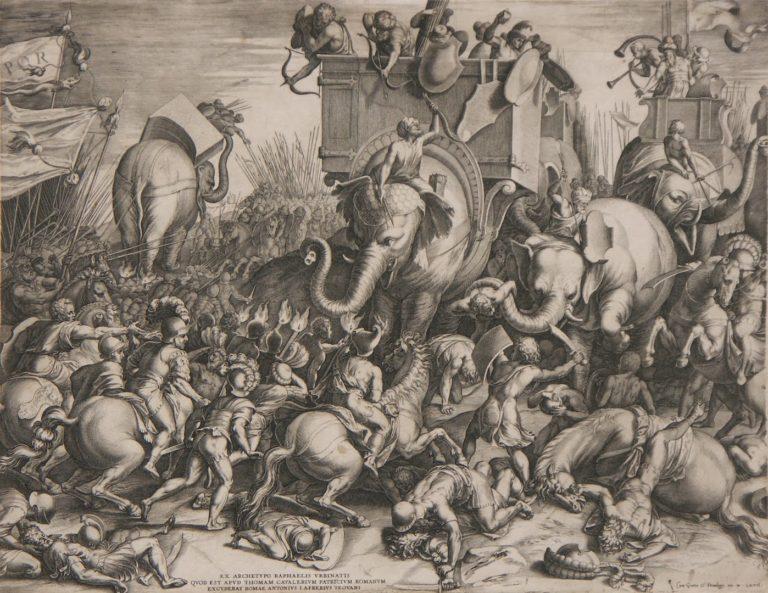 Битва при Заме в 202 г. до н.э. 1567