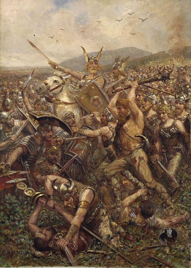 Битва в Тевтобургском лесу. 1909