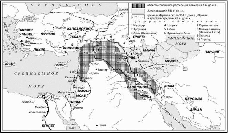 Ближний Восток в начале I тыс. до н.э