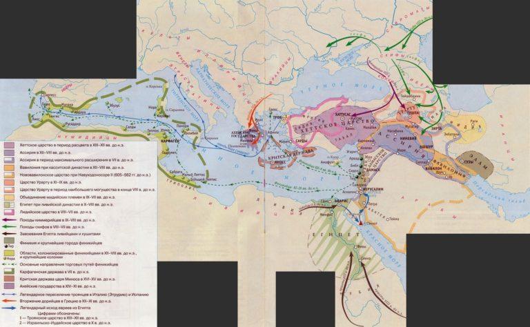 Ближний Восток в XIII - VII вв. до н.э.