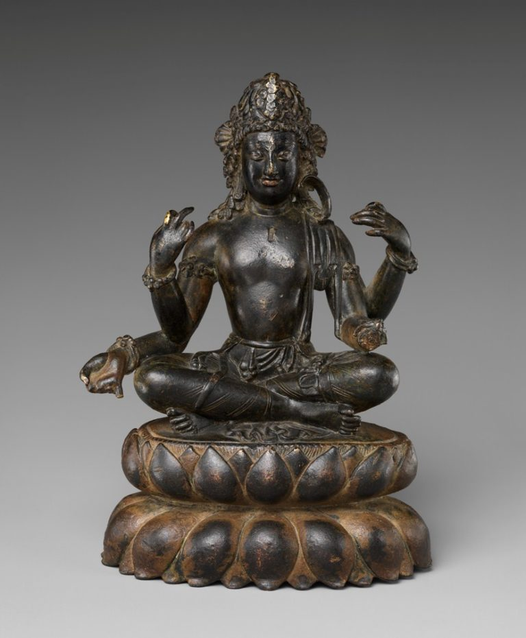 Бодхисаттва Авалокитешвара. Пакистан, VII в.