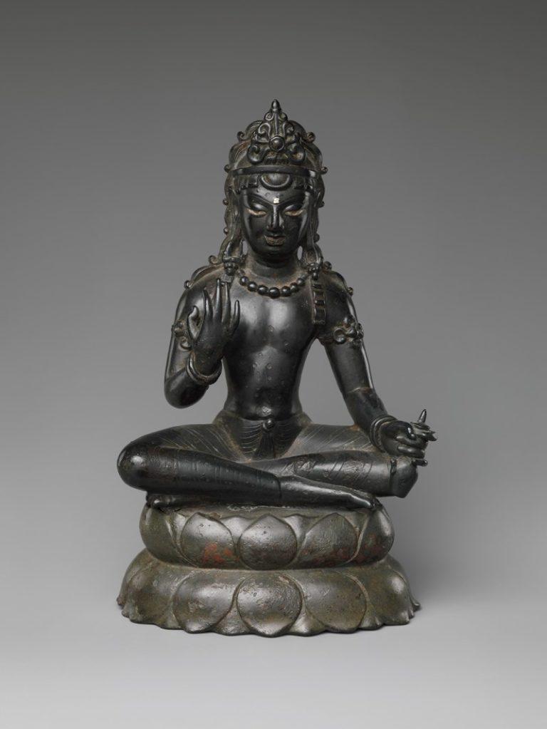 Бодхисаттва Майтрейя. Индия, VII в.