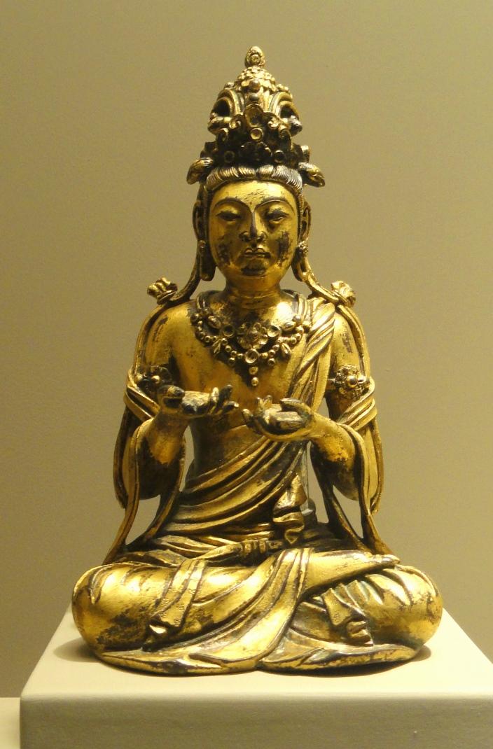 Бодхисаттва Манджушри. Китай, IX–X вв.