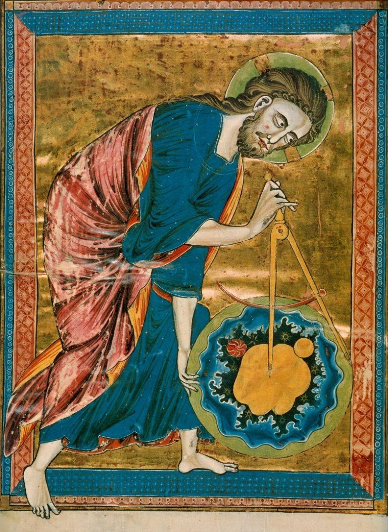 Бог-Архитектор. Ок. 1220-1230