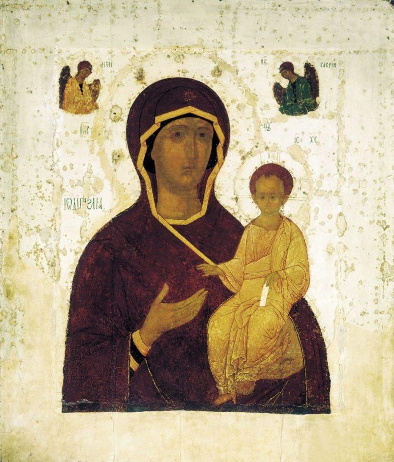 Богоматерь Одигитрия. 1482