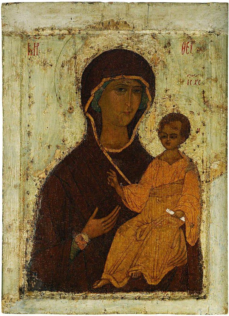 Богоматерь Смоленская. Конец XV – начало XVI в.