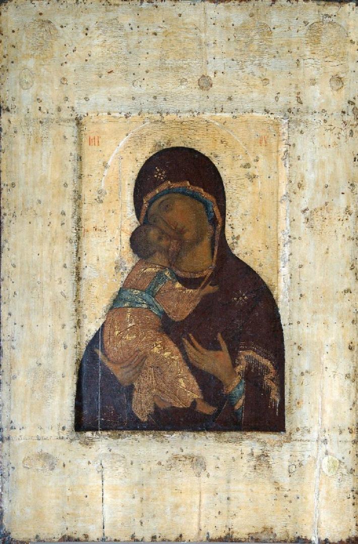 Богоматерь Владимирская. 1395 – сер. 1410-х гг.